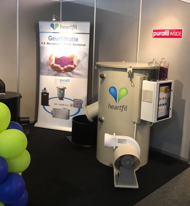 Odor equipment - vakbeurs Aqua Nederland 2017